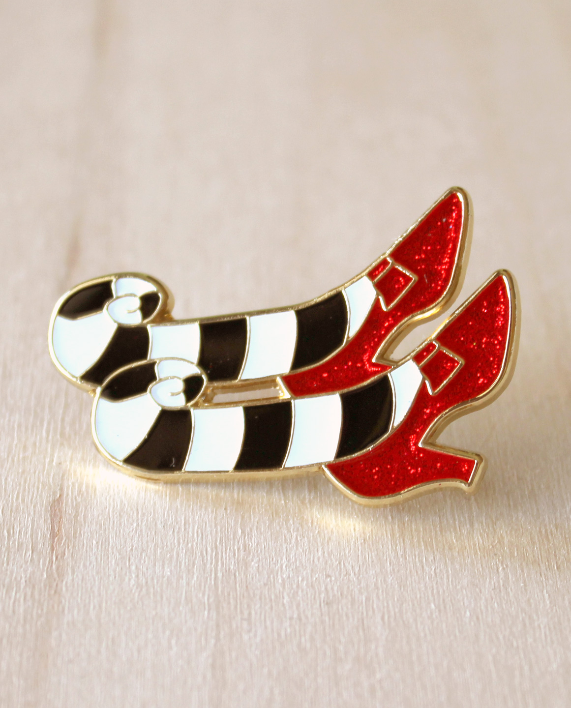 Witch Shoes Pin